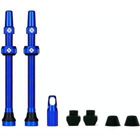 Muc-Off MTB & Road Tubeless Valve Kit 80mm, blue